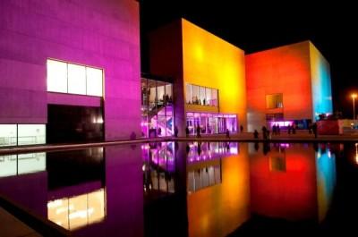 Vista exterior del Museo de Arte Contemporáneo de Mar del Plata